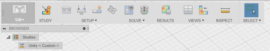 Barra simulación